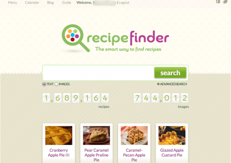 Need a Break From Blogging? Cook With Recipe Finder!
